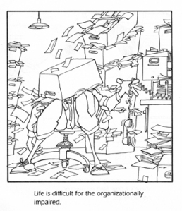 jerry van amerongen cartoon, , life is difficult for the organizationally impaired